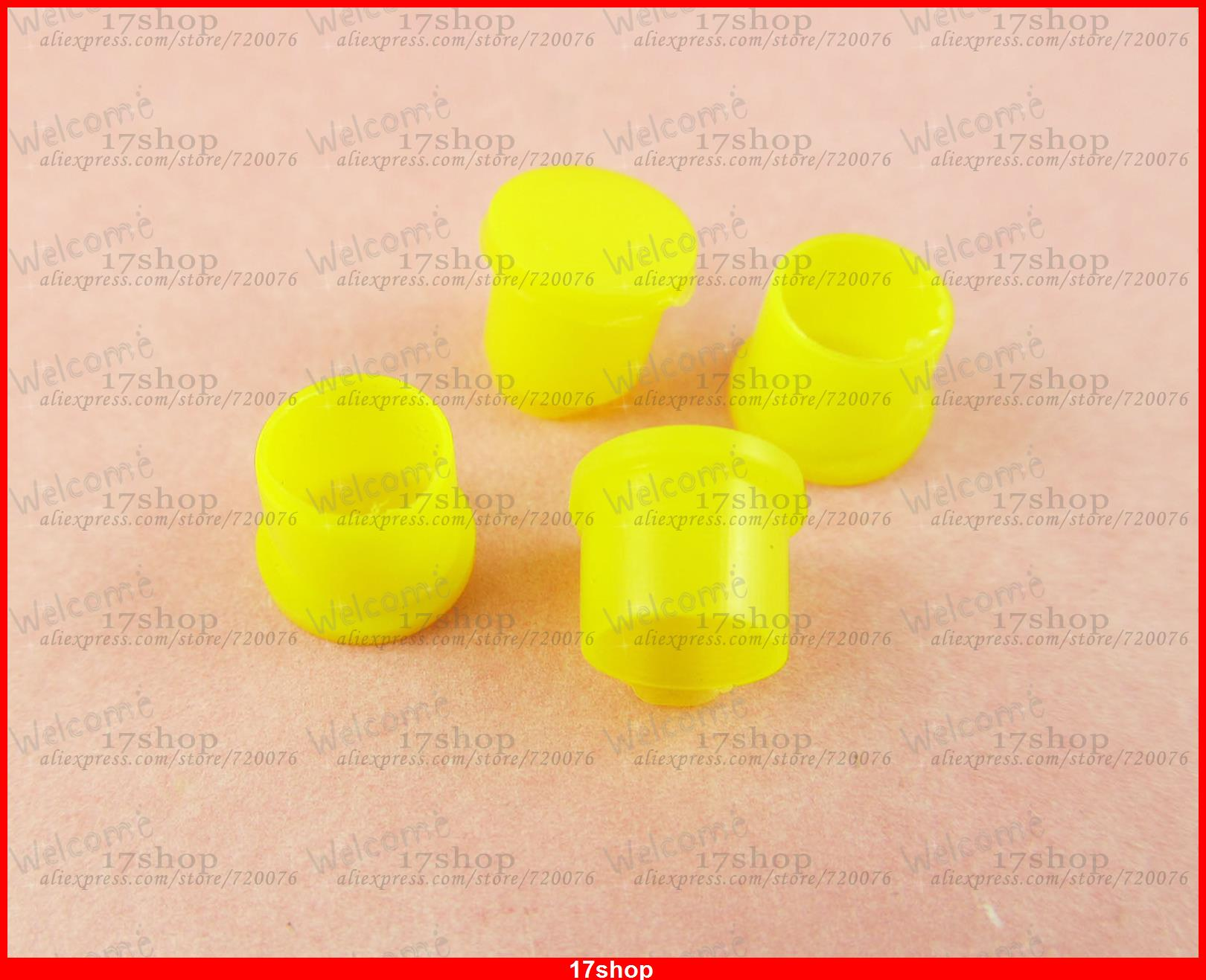 500 Pcs Plastic Covers Yellow Dust Cap f SMA RP-SMA Female RF Connector(China (Mainland))