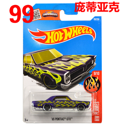 Free Shipping 2016 New Hot Wheels 65th Pontiac Gt10 Car Models Metal Diecast Car Collection Kids Toys Vehicle Children Juguetes(China (Mainland))