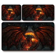 Mouse Pad,World of War craft : Cataclysm,Deathwing Neltharion, Speed version locking edge,free shipping(China (Mainland))