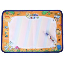 2016 Brand New Magical Colorful Babies Water Doodle Mat Painting Educational Toy Children Aqua Doodle Drawing Toys(China (Mainland))