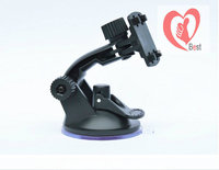 Portable car GPS navigation device electronic support four claw clasp four suction cup bracket Free Shipping