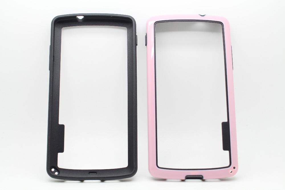 Dual Color Frame Bumper TPU +PC CASE for LG google Nexus 5 for Motorola MOTO G for Samsung Galaxy Core I8260 20pcs/lot