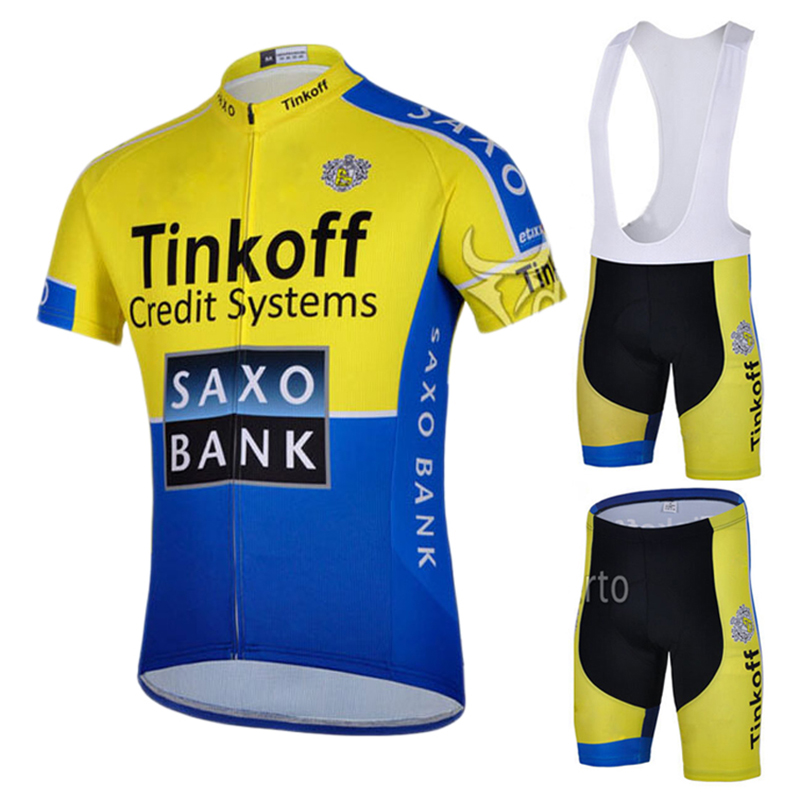 2015 Bike Team Saxo Bank Cycling Jersey & Bib Shorts ...