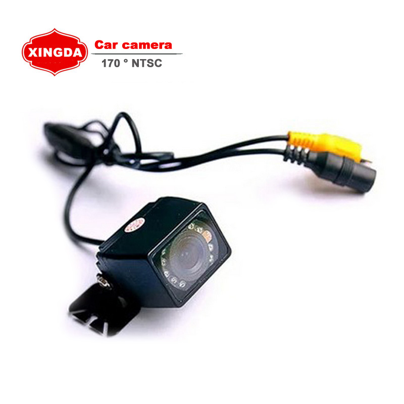 170 Degree CCD HD Night Vision Car Rear View Camera Wide Viewing Angle Reverse Backup Auto Webcam(China (Mainland))