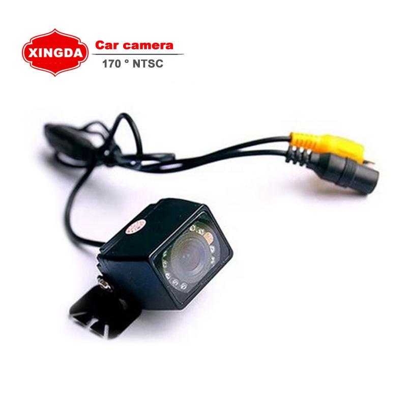 170 Degree CCD HD Night Vision Car Rear View Camera Wide Viewing Angle Reverse Backup Auto Webcam(China (Mainland))