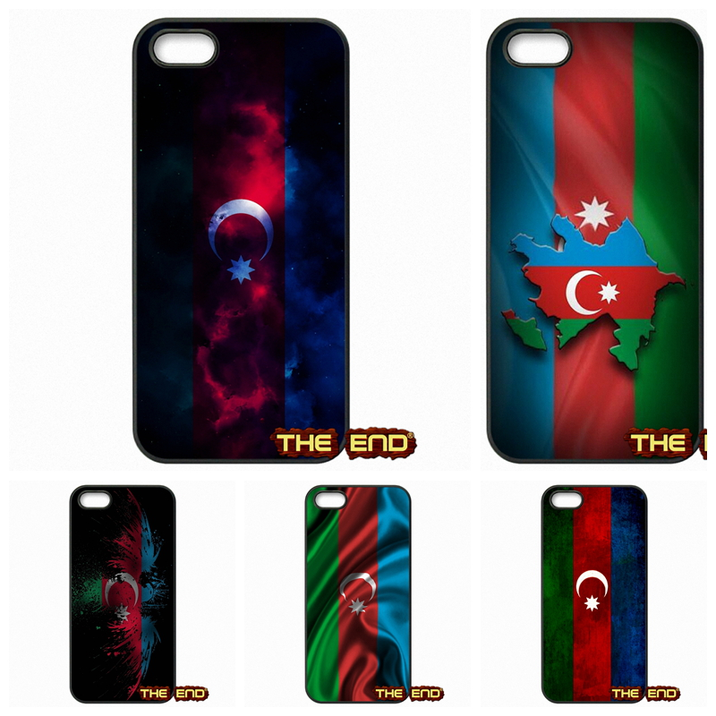 For Samsung Galaxy S S2 S3 S4 S5 MINI S6 S7 edge Note 2 3 4 5 7 Retail AZ Azerbaijan Flag Hard Phone Black Skin Case Cover(China (Mainland))