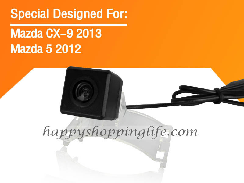 Car Rear View Camera for Mazda 5 Premacy 2012 with Night Vision Waterproof - Mazda 5 Premacy Reverse Back Up Camera
