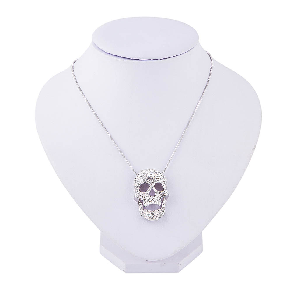 Outstanding Skull Pendant Necklaces Punk Skull Head Choker Fashion Jewelry Accessories for Women(China (Mainland))