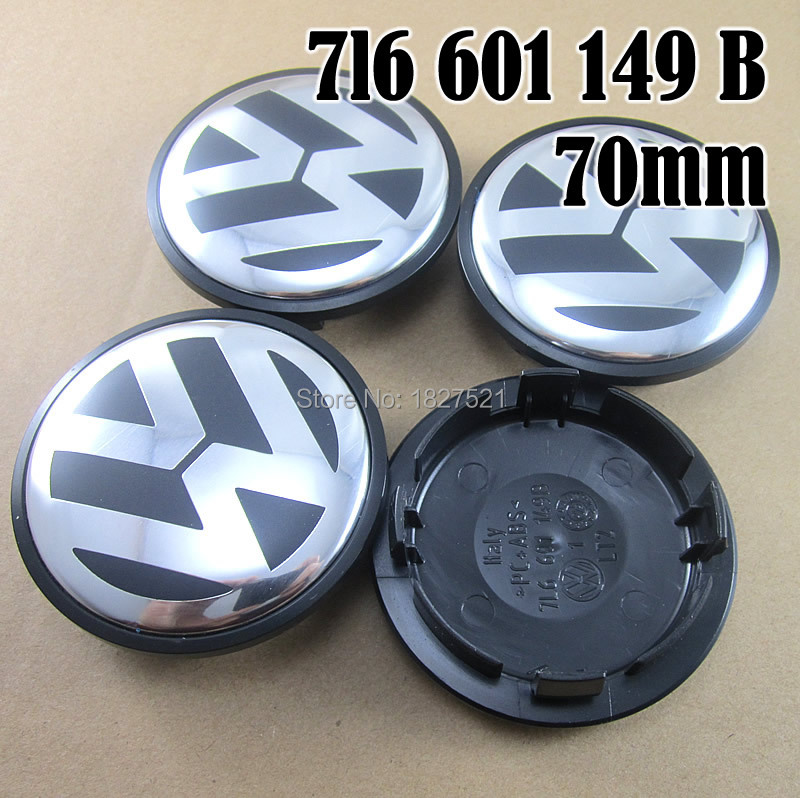 20pcs/lot 70mm Best Quality Wheel Center Hub Caps Covers Emblem for VW 2008-2010 Touareg For Volkswagen 7L6 601 149B 7L601149B(China (Mainland))