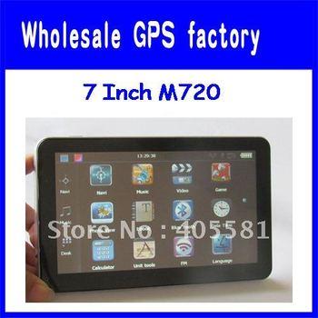 wholesale Digital TV ISDB-T  7 inch GPS, bluetooth GPS, Bluetooth,AV-IN, DDR 128 M, 4G CARD, Brazil navigation system