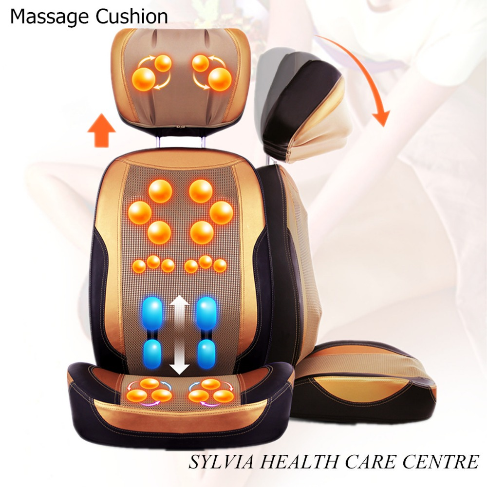 2016 Hot Vibrating Kneaking Infrared Massage chair cushion / Massager Cushion Seat(China (Mainland))