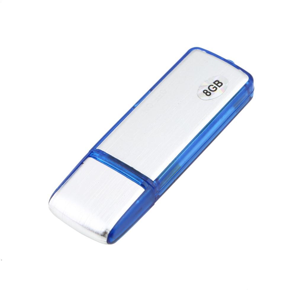 10pcs New 2in1 8GB Digital Audio Voice Recorder Pen USB Flash Memory Drive Disk(China (Mainland))