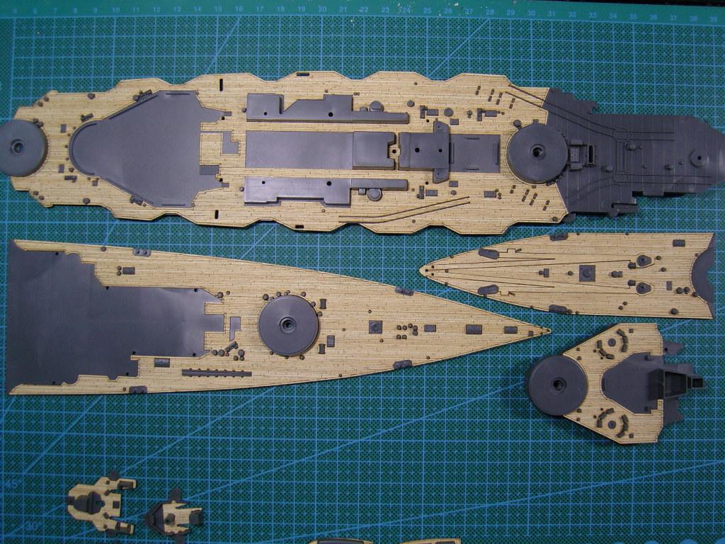 ARTWOX agency Aoshima 041178 battleship diamond Japanese wood deck AW10015(China (Mainland))