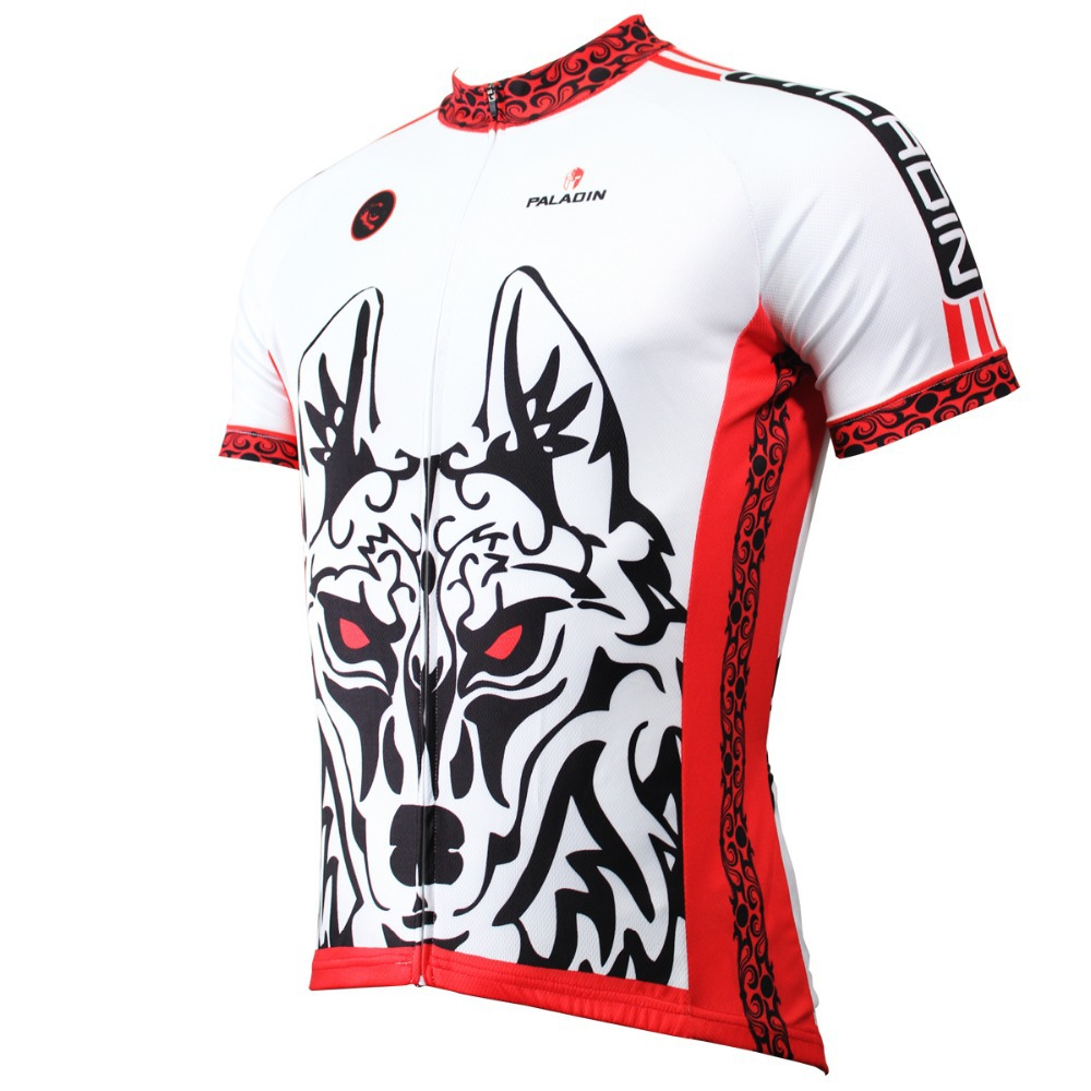 2016 new men's wolf cycling jersey cool cycling clothing boy's bicycle shirt cycle gear riding wear ropa ciclismo cool jersey(China (Mainland))
