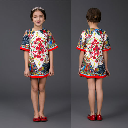 Top Designer Clothes For Boys New arrival baby girl dress
