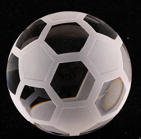 Noble Crystal Football Ball 80mm(China (Mainland))