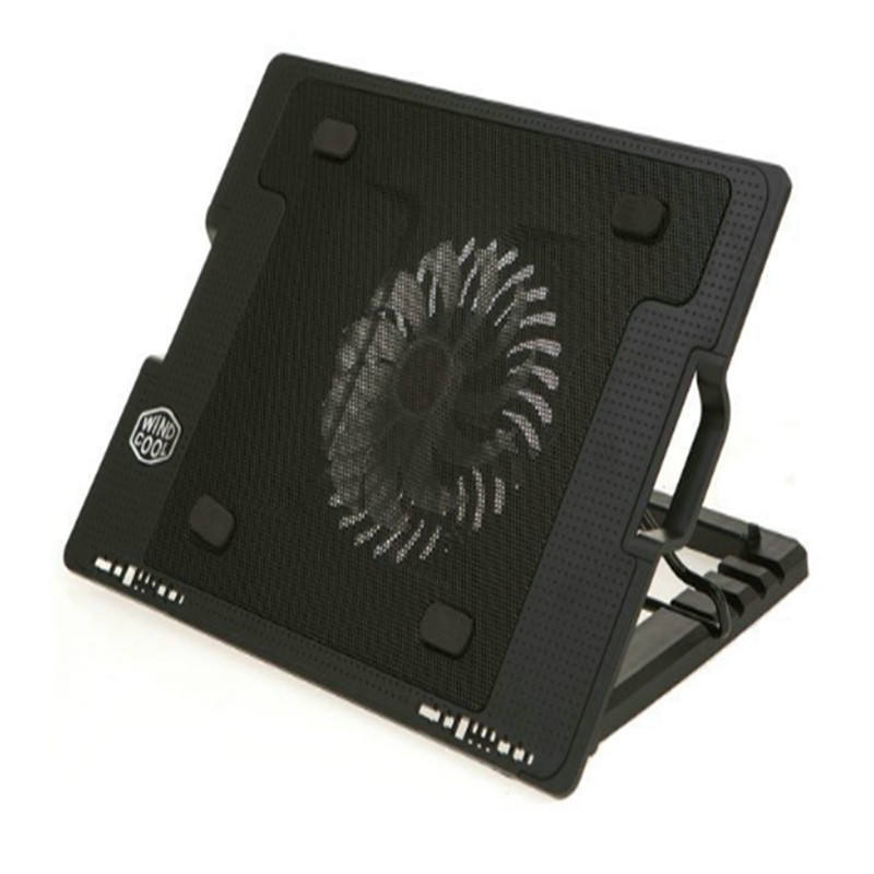 37*26.5*3.3~5.8cm Rotor wing style laptops cooling pads foldable notebook stand laptop accessories(China (Mainland))