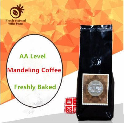 AA Level Green Coffee Slimming Mellow Heavy Bitter Flavor Indonesia Mandeling Coffee Beans Green Cofeee 250G
