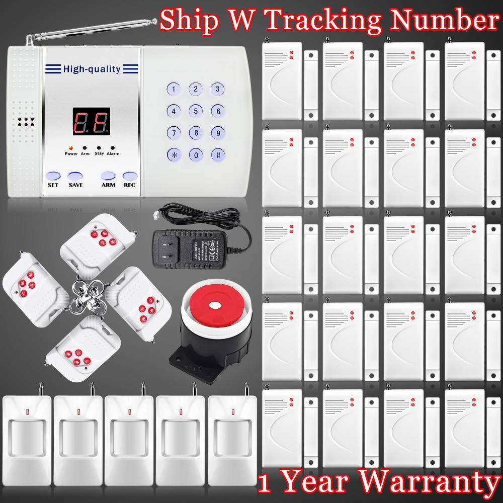 EMS Free Shipping! Wireless 99-Zone Voice home security alarm system Wireless PSTN Burglar for Great Discont!<br><br>Aliexpress