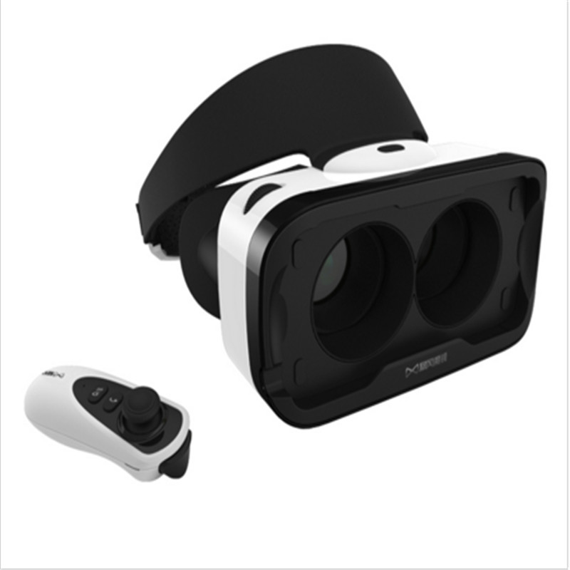 baofeng mojing 4 Virtual Reality Smartphone 3D VR Glasses Headset Oculus Head Mount Video for 4.7'-5.5' Android Phone + Remote(China (Mainland))