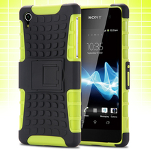 Z2 Case High Quality Luxury Hard TPU Plastic Hybrid Armor Mobile Phone Case Cover For Sony Xperia Z2 C770x D6502 D650 D6503 L50W