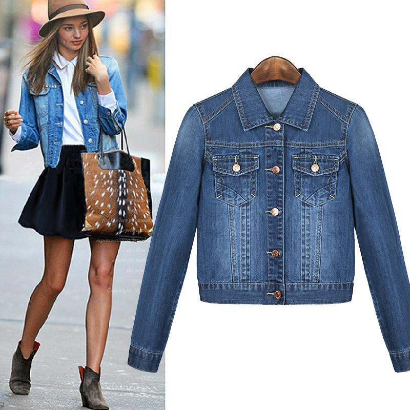 Online Get Cheap Ladies Denim Jackets and Jeans -Aliexpress.com