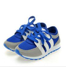 Nuovo all seasons bambini maglia scarpe lace-up soild bambino traspirante sport scarpe da corsa all'aperto sport di tendenza scarpe da ginnastica bambino(China (Mainland))