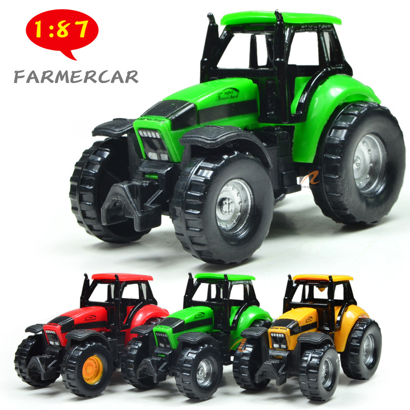Children farmer car toy model metal vehicle toy Baby educational toys(China (Mainland))
