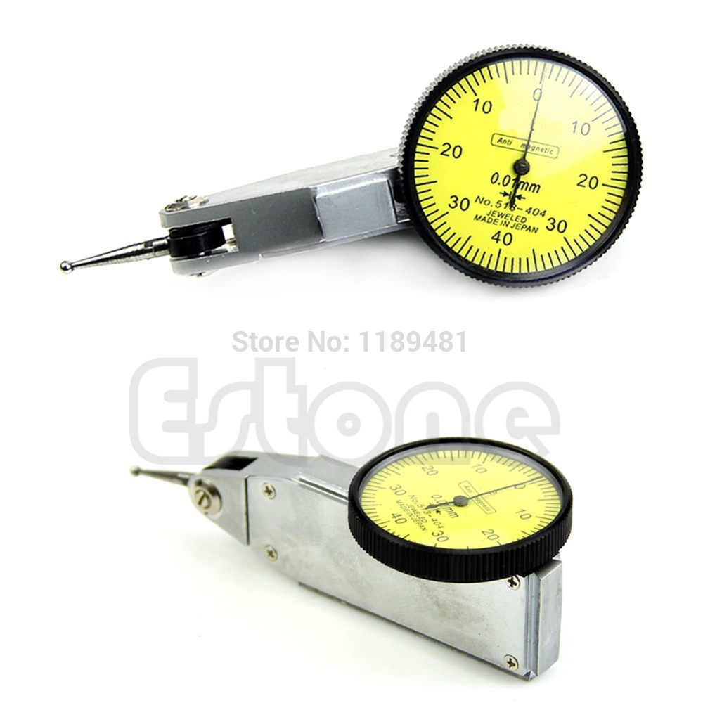 Гаджет  F85 Free Shipping Level Gauge Scale Precision Metric Dovetail Rails 0-0.8mm Dial Test Indicator None Инструменты