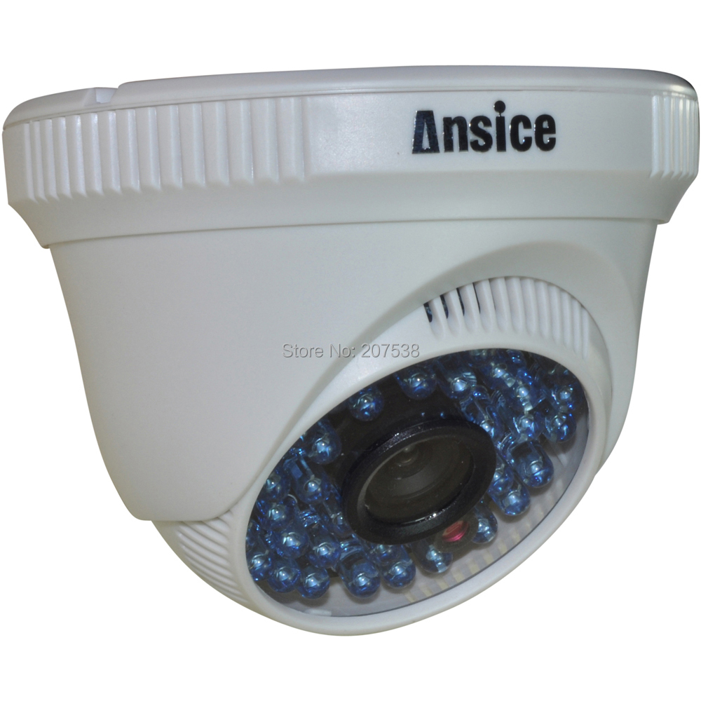 --48LED CCTV Camera security Wide angle lens 2.8mm CMOS 1000TVL Infrared Color IR-CUT day/night vision Indoor - ansice-cctv camera store