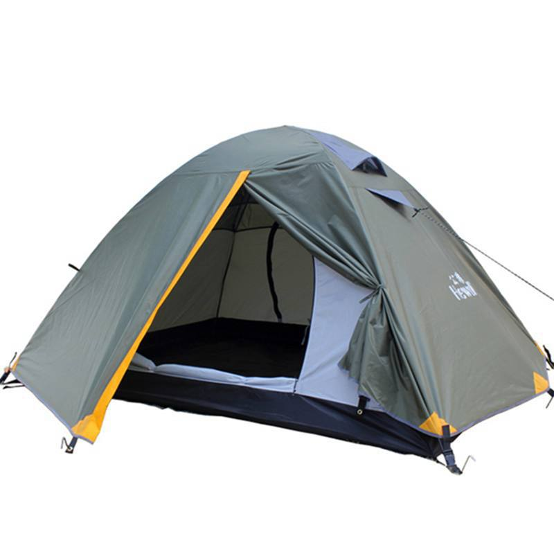 2015 New Camping Tent 4 Seasons Organic Fabric 2 Person Stylish Camping Tent Outdoor Tents Sports 1605(China (Mainland))