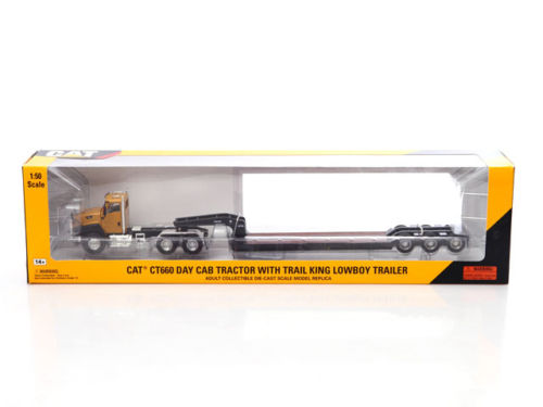 Norscot 55503 Cat Caterpillar CT660 On-Highway Truck with Lowboy Trailer 1/50(China (Mainland))