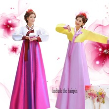 Buy New Long Sleeve Women Hanbok Vintage Dress Korean Traditional Dress Court Lady Korean Traditional Clothing Stage Cosplay 89 for $29.99 in AliExpress store
