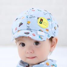 Baby Kid Boy Girl Toddler Infant Hat Little Car Baseball Beret Cap(China (Mainland))
