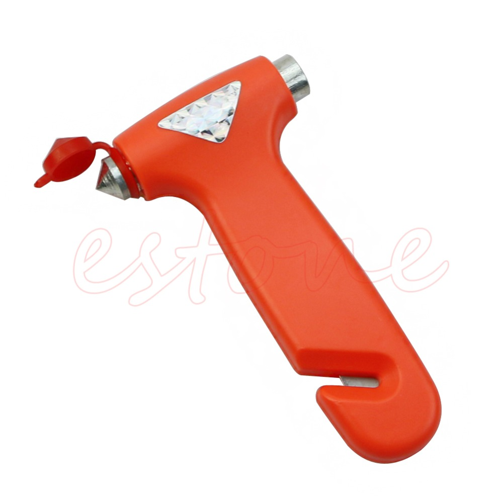 E93  2016 newest1PC Car Emergency Safety Gear Break Window Glass Hammer Belt Rope Cutter Toolfree shipping<br><br>Aliexpress