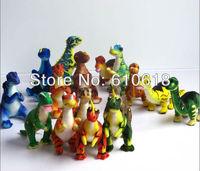 2015 New Arrival Free Shipping Wholesale 12Pcs/Lot  Jurassic Park Dinosaur Children's Cartoon Plush Toy Gift Doll Model