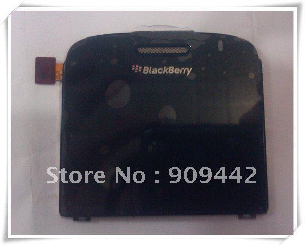 Original LCD Display Screen Version 001 002 003 /004 for BlackBerry Bold 9000 Black White LCD(China (Mainland))