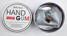 Intelligent Plasticine Magnetic Thinking Silly Putty Ferrofluid Magnet Mud Creative Liquid Magnetic Mud Handgum Hand Gum Toy(China (Mainland))