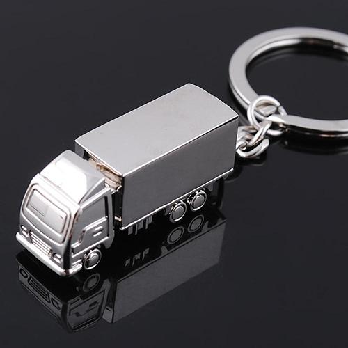 Cute Metal Truck Lorry Car Key Ring Keyfob Keychain Creative Gift Lovely Keyring <br><br>Aliexpress