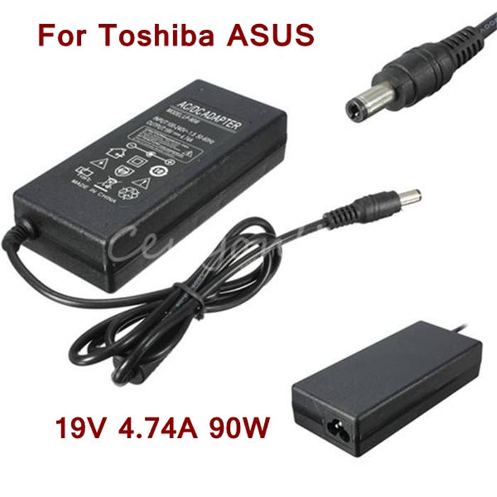 5.5mmx2.5mm Newest Replacement AC Adapter Power Supply Charger Cord for Toshiba 19V 4.74A 90W Laptop Notebook For ASUS Delta(China (Mainland))