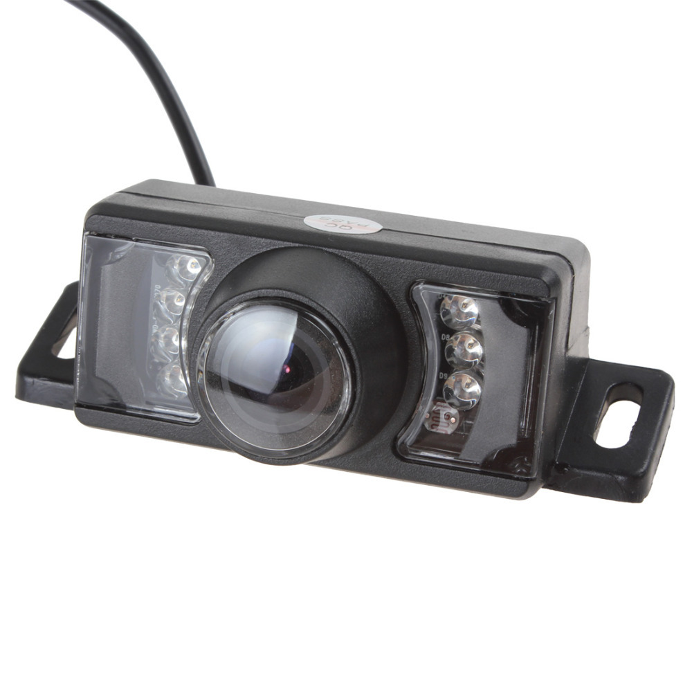 Waterproof Car Rearview Rear View Camera For Vehicle Parking Reverse System With 7 IR Leds Night Vision(China (Mainland))