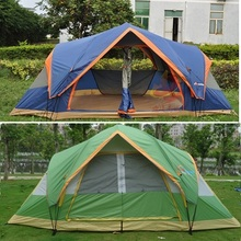 5 6 Large family tent automatic quick open camping tent sun shelter beach tent gazebo for