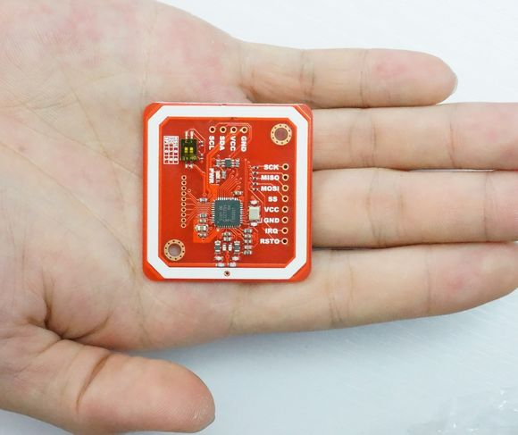 Гаджет  PN532 NFC RFID module V3 kits -- NFC with Android phone with Card Tag Ring Cable Pin for Schematic and library None Безопасность и защита