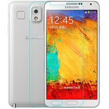 Real Tempered Glass for Samsung Galaxy Note 3 9H Hard 2.5D Curve Front Screen Protector Glass for Samsung Galaxy Note III(China (Mainland))