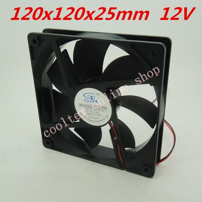 Large 12 Volt Fan : Aliexpress buy mm fans volt pin