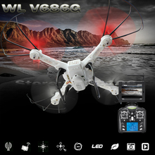 WLtoys V686G V686 5.8G Hz 4CH Drone FPV RC Quadcopter JJRC V686 With HD Camera RTF Drone CF Headless Mode Light-up Toy(China (Mainland))