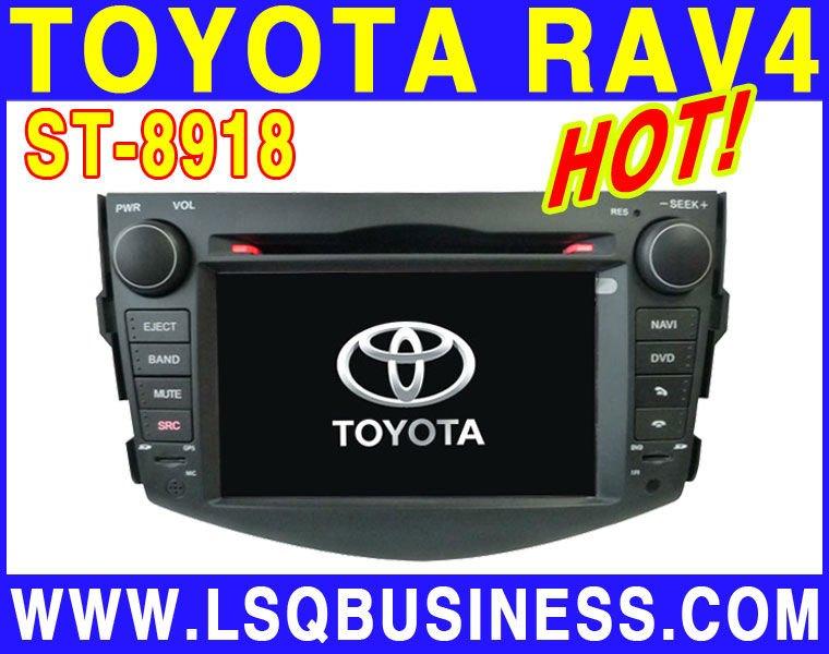 Toyota RAV4 car dvd player & gps navi, dvb-t optional & free shipping!(China (Mainland))