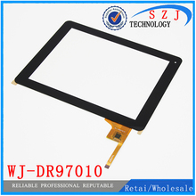 Original 9.7″ inch WJ-DR97010 Universal touch screen digitizer touch panel glass for tablet PC with IC Free shipping
