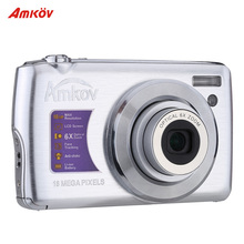 "AMKOV OE3 HD Digital Camera Video Camcorder 18MP 2.7"" TFT LCD Screen 6X Optical Zoom Anti-shake(China (Mainland))"