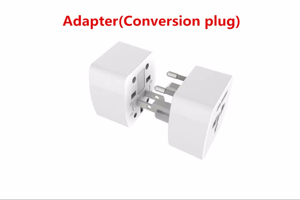 Universal UK EU US AU 3 AC wall Adapter 6 USB Plug Electric Switch Outlets Power sockets with 2M cord for xiaomi phone Charger
